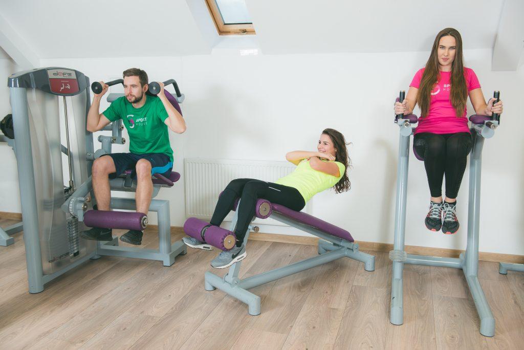 Fitness centrum Sport House Trnava