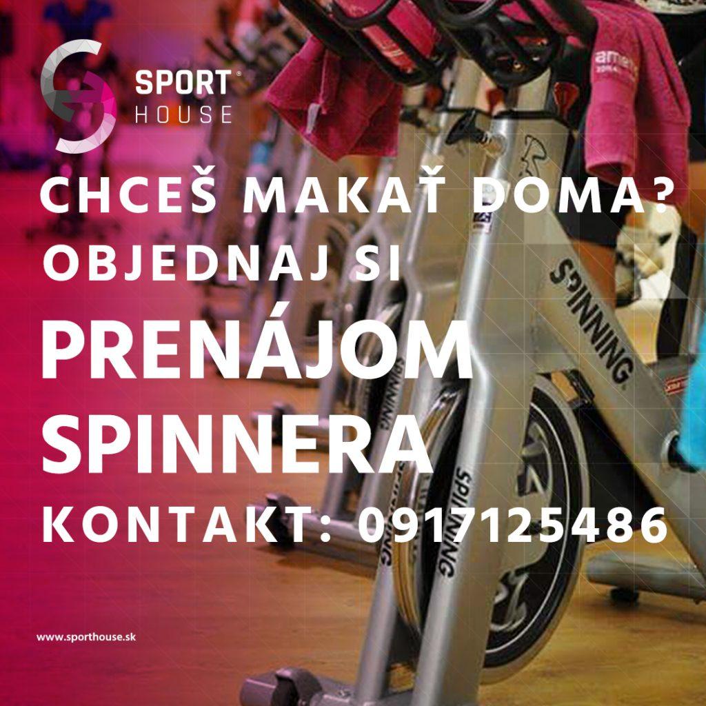 Prenájom Spinnera